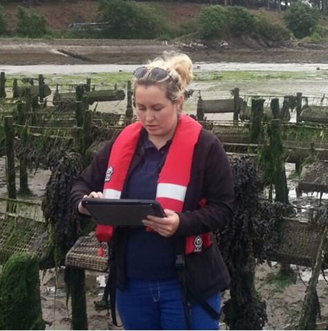 FHI shellfish farm inspection