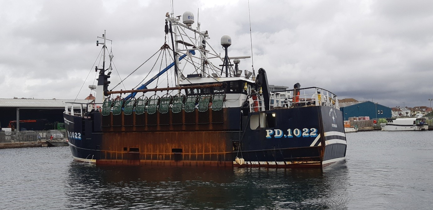 fishing vessel for Scallop survey
